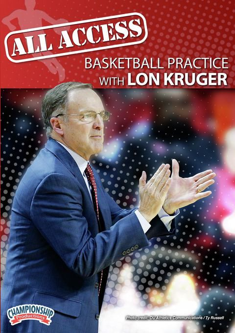 All Access Basketball Practice with Lon Kruger - Coach's Clipboard #Basketball DVD Store
