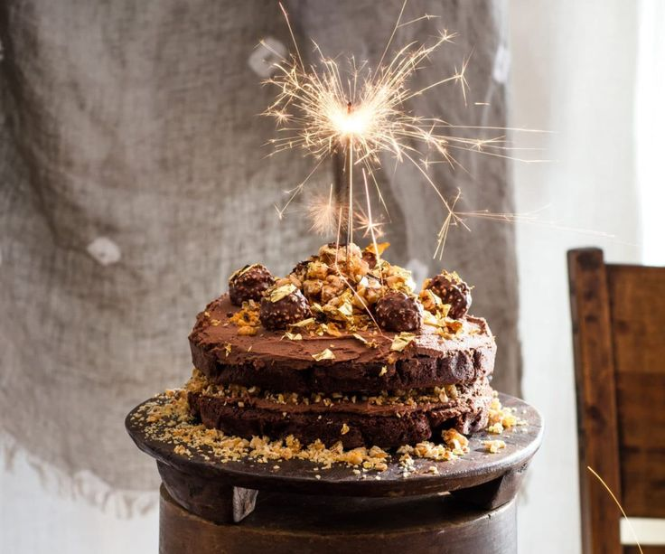 Ferrero Rocher Chocolate Hazelnut Cake By Nadia Lim