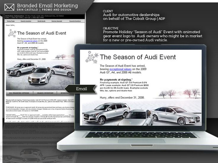 24 best Promo and Design :: Automotive Email Marketing Campaigns ...