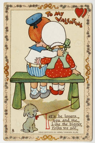 To My Valentine--Let's be lovers :: Archives & Special Collections Digital Images :: 1911
