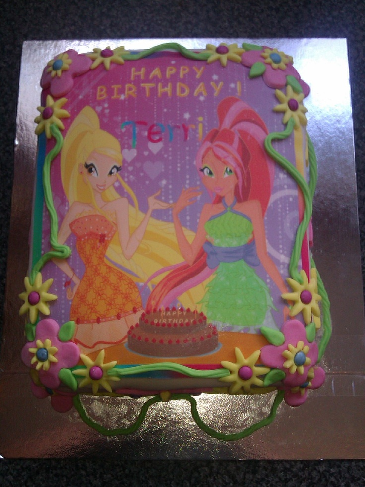 Cake Design Winx : Winx Club Cake Party Ideas Pinterest Winx club and Cakes