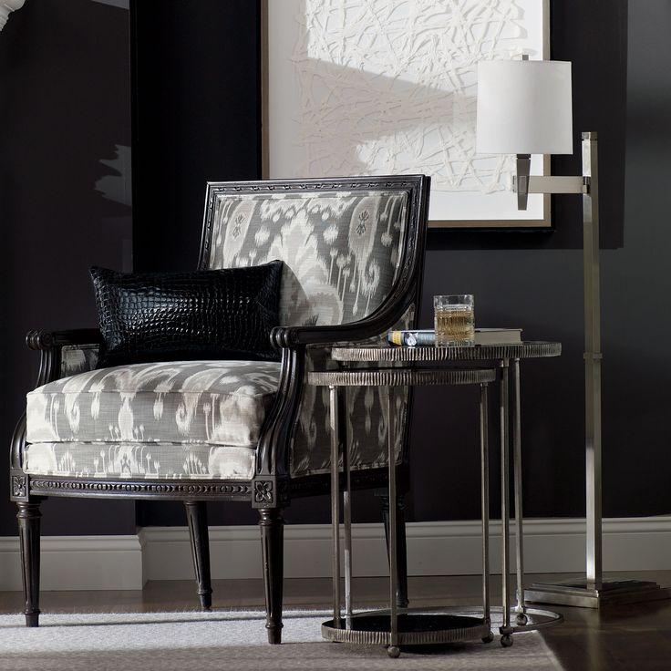 Design Trends :: Black And White. White Paper Art   Ethan Allen US