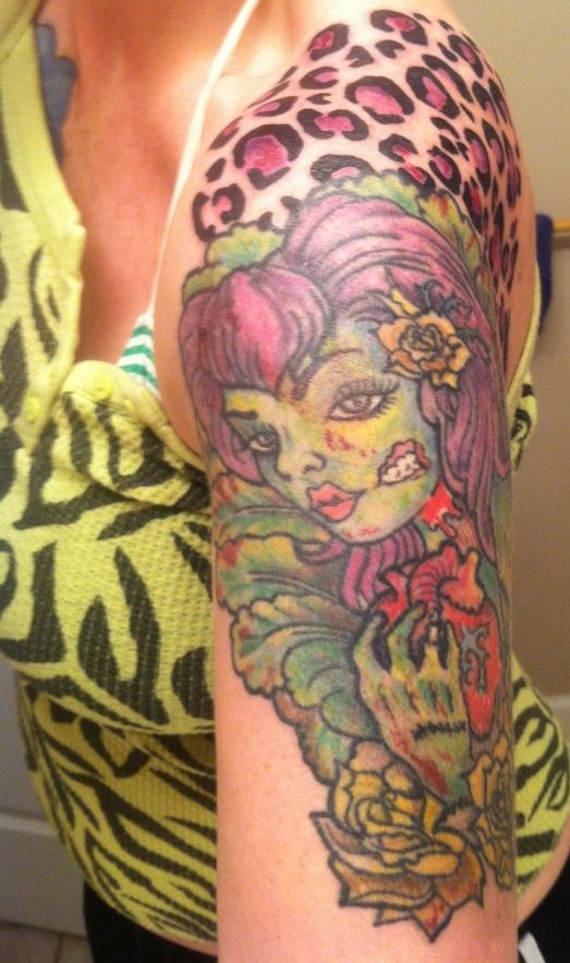 Zombie Little Girl Tattoo 17+ images about Zombi...