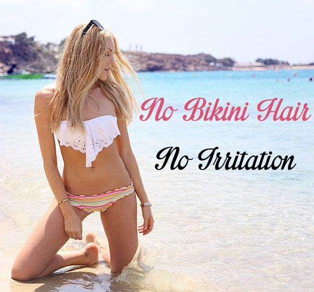 Bikini hair removal options