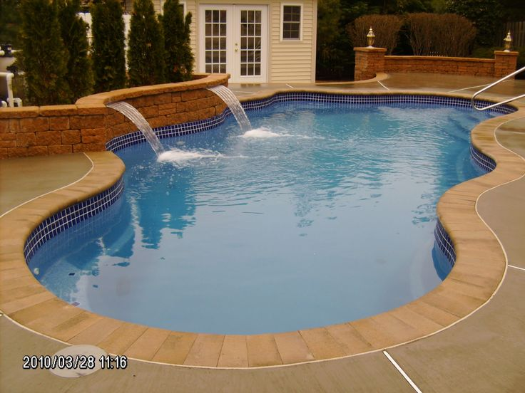 32 best san juan pool builder repins images on pinterest pool tile inlays laguna model viking pool it is a 14 by ppazfo