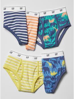 Animal stripe underwear (5-pack) | Gap