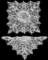 Cinderella Pattern Detail ~ stunning  ~ free pattern