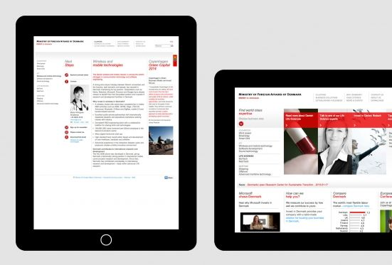Kontrapunkt - Invest in Denmark. Speaking of business. Website for the Danish Ministry of Foreign Affairs turned into the world's 5th best.