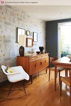 mid century modern dining room retro - Google Search