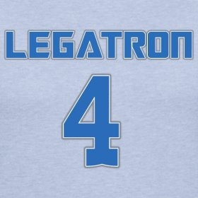 Love it!  Jason Hanson is a good man ;)  LEGATRON!!!!!!!!!!!!!!!!!!!!!!!!!!!!!!
