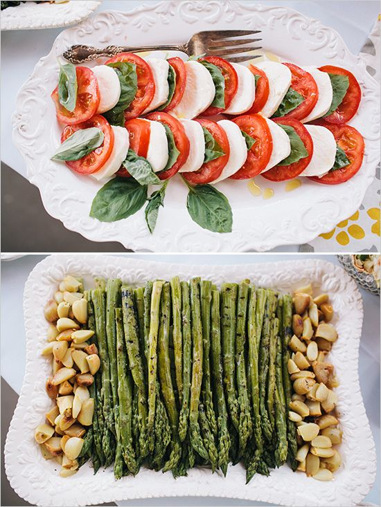 Easy vegetarian options at this Kentucky Derby inspired bridal shower overflowing with details. #weddingchicks Captured By: Bri Morse Imagery http://www.weddingchicks.com/2014/07/09/a-day-at-the-races-inspired-bridal-s