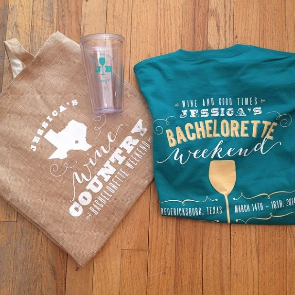 Bachelorette Party Welcome Bag Swag For A WeekendBachelorette IdeasBachelorette ShirtsCountry