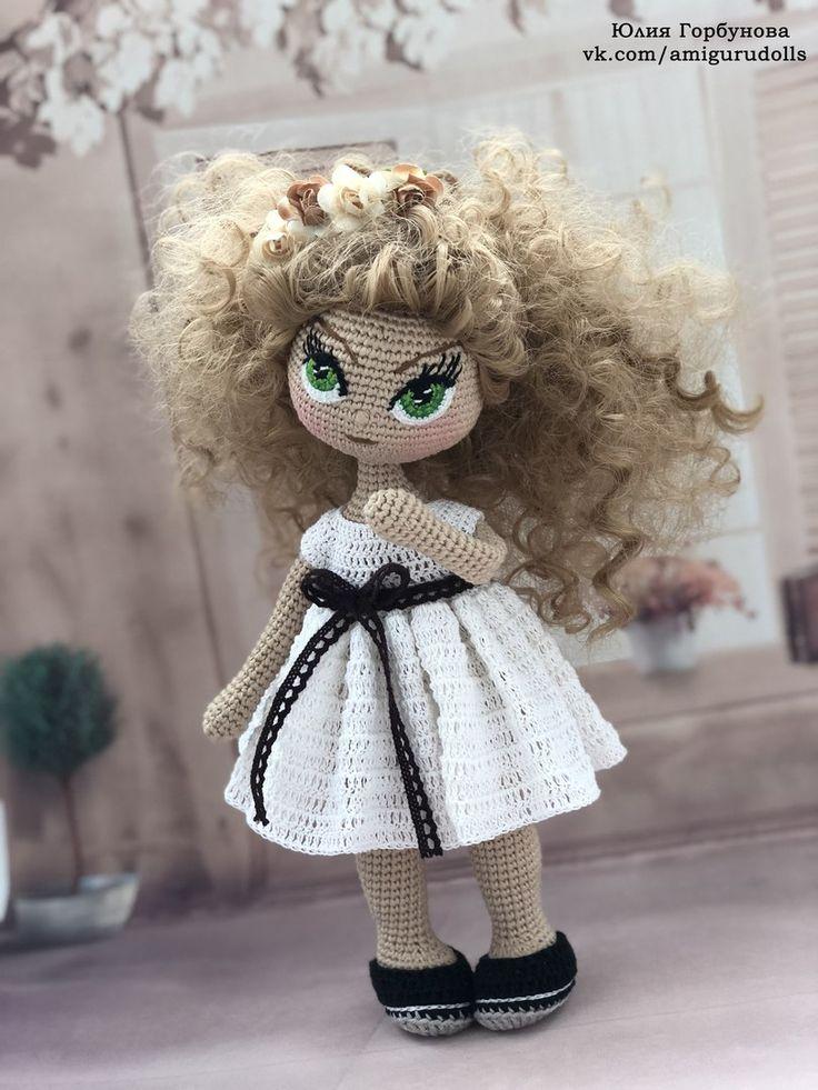 Куклы крючком амигуруми, мастер-классы   VK