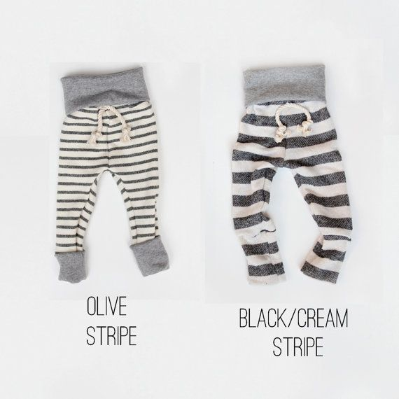 skinny sweats -- baby/toddler sweatpants