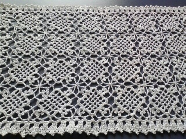 85 best Cortinas crochet, macramé y dos agujas images on Pinterest ...