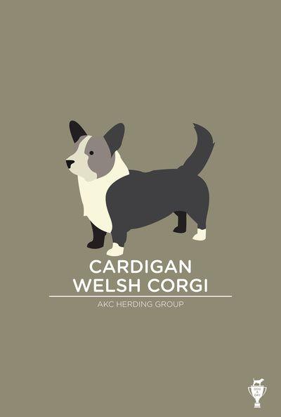 Cardigan Welsh Corgi Art Print   - for more inspiration visit http://pinterest.com/franpestel/boards/