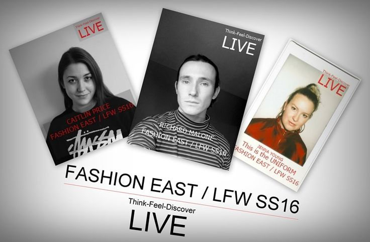 Think-Feel-Discover -LIVE- FASHION EAST15th YEAR SHOW supported by Topshop NEW ARTICLE : 3 emerging talents presentation -SOON- London Fashion Week Young innovative British designers STAND OUT of the croud! photo rights : British Fashion Council
