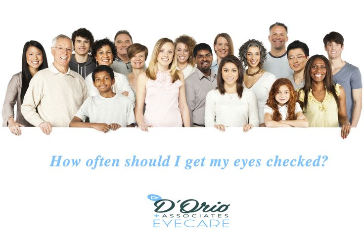 There is no predetermined frequecy reccomended for eye exams. Based on different factors from person to person the ideal frequency varies. Nevertheless it is recommended for all!