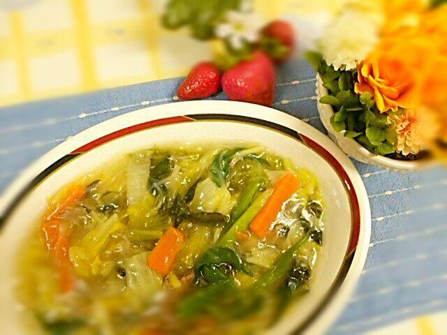 一日分の71%の野菜がとれます - 7件のもぐもぐ - 白菜と豚肉の中華風うま煮 by Yoshitsugu  Tsuchiya