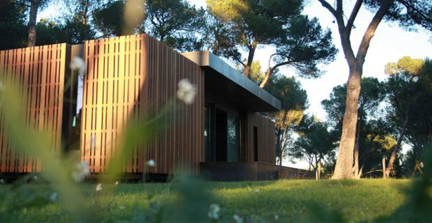 "Marsiglia (sud della Francia), ""Pop-Up House"" casa-passiva, ideata dallo studio Multipod"