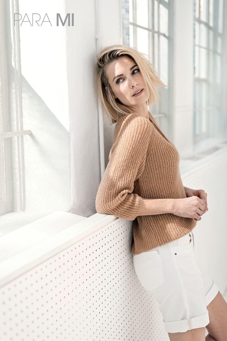 Lindsey | Color Denim | White | Para Mi | Fashion