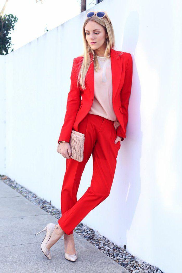 Tendance chic pour vous - le tailleur pantalon femme - Archzine.fr 15c91ede572