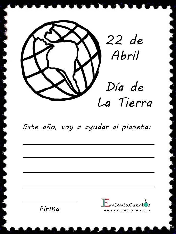 ¡Llegó el Día de la Tierra!  ¿A qué se comprometen los niños para ayudar a nuestro planeta?