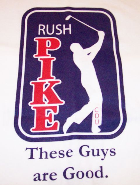 Pi Kappa Alpha rush shirt