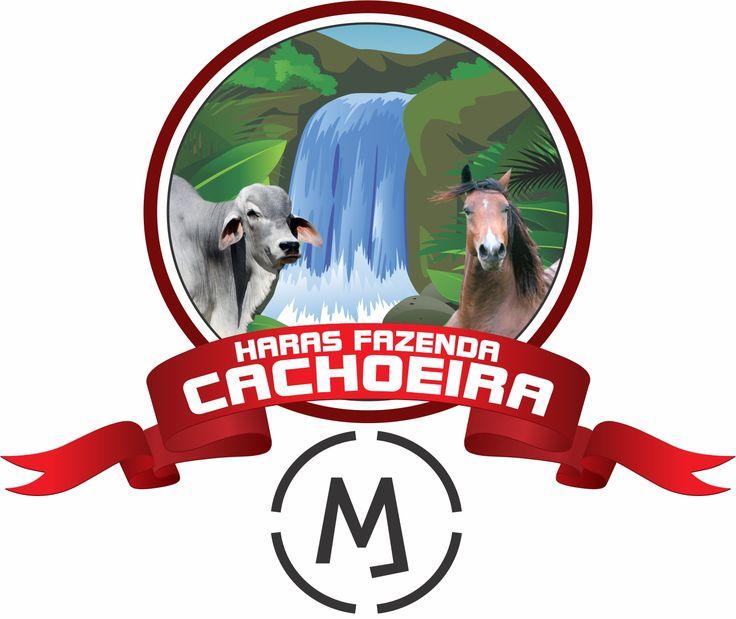 Criação Logomarca Fazenda Cachoeira