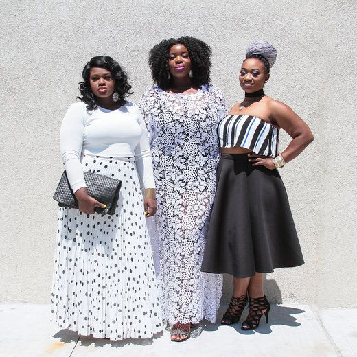 CURVY GIRL STYLE AT THECURVYCON 2016 FIERCE FASHION Chibuogu Ononye, Valerie Eguavoen and Olabisi Oladipo dress to impress at theCurvycon 2016 at Met