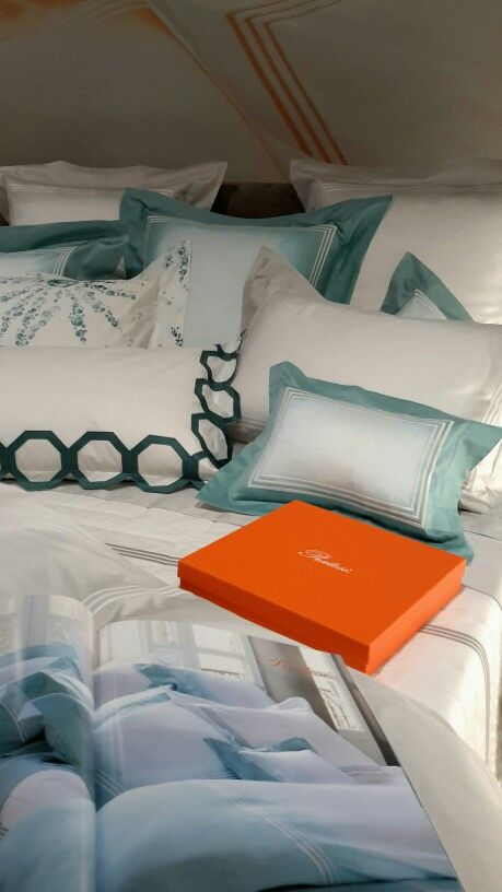 "Shining in orange in #Monaco! #Pratesi Spring/Summer 2016 #collection - Featuring the new ""Graffiti"" print"