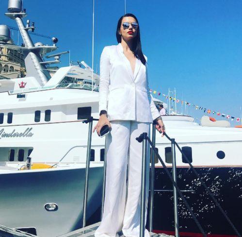 Adriana Lima à Monaco
