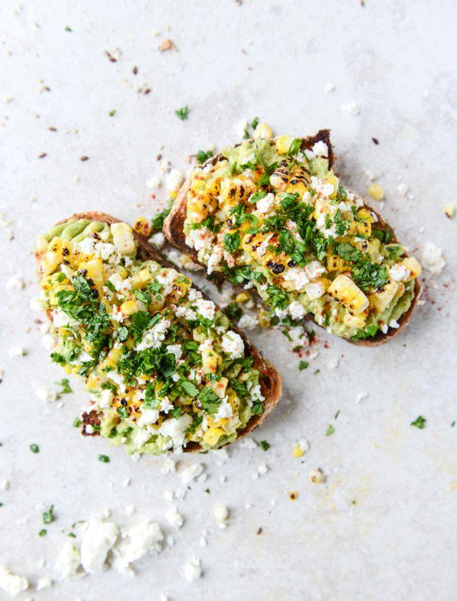 mexican grilled corn avocado toast | #recipe #healthy #Healthy #Easy #Recipe | @xhealthyrecipex |