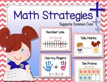Best 25+ Math strategies posters ideas on Pinterest