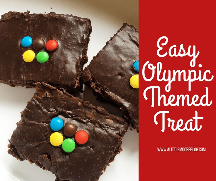 The closer we get to the 2016 Rio Olympic Games, the more I hear is it here yet from my kids. So last night we decided to look up the events and learn about the athletes over brownies. I am not going to lie these are from a box. I fancy myself a pretty good [...]