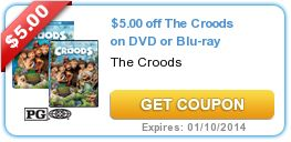 $11.00 in New DVD and Blu-Ray Coupons: The Croodsk, All is Bright, Escape from Planet Earth
