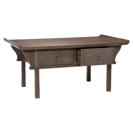 I pinned this Kara Coffee Table from the angelo HOME event