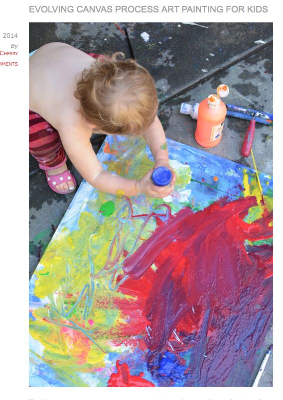 Toddler Canvas Art