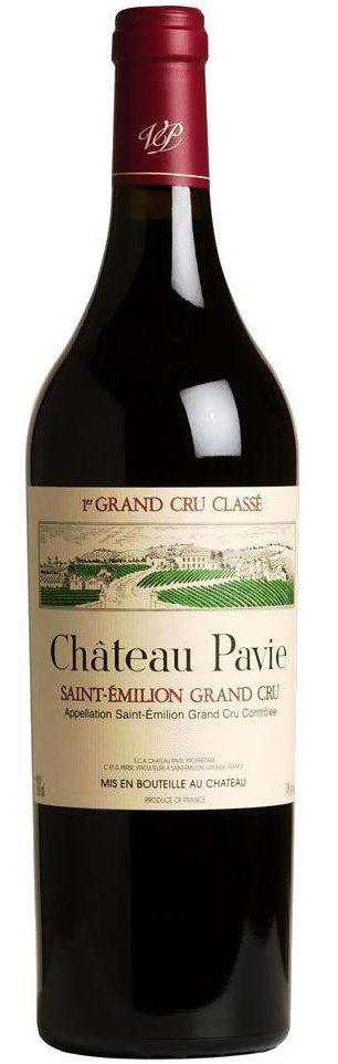 Merlot / Cabernet Franc / Cabernet Sauvignon - Château Pavie, Bordeaux - Terroir: 1er Grand Cru Classé A de Saint-Emilion Grand Cru A.O.C ( Libournais) - Bordeaux
