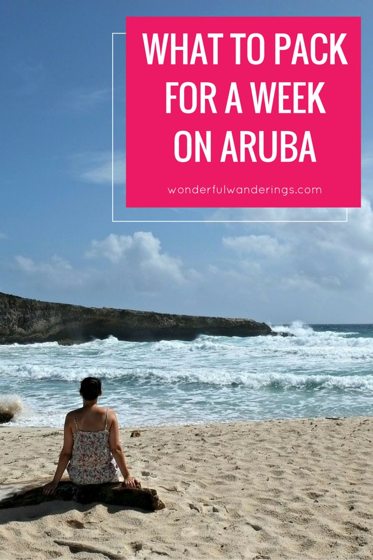 What to pack for Aruba. My Aruba packing checklist for a ...