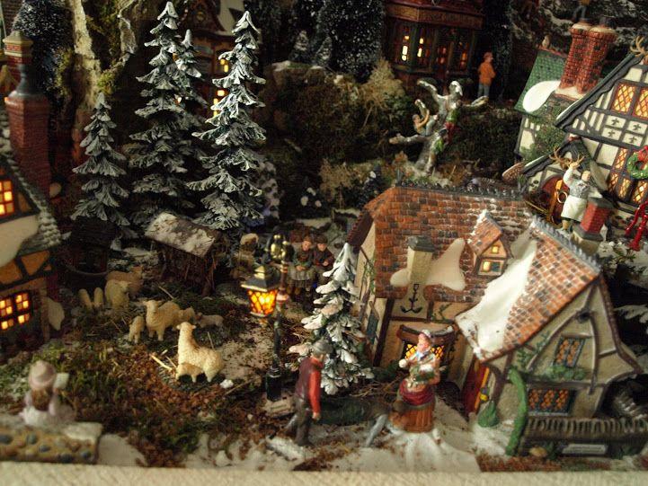 Christmas Village of Mark de Vries, 2012.