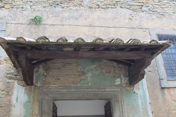 tettoia per ingresso bagno