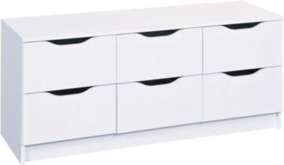 Kommode weiss Jetzt bestellen unter: https://moebel.ladendirekt.de/wohnzimmer/schraenke/kommoden/?uid=3d102c8a-845b-5740-9c25-004eb762f0a7&utm_source=pinterest&utm_medium=pin&utm_campaign=boards #schraenke #kommoden #wohnzimmer