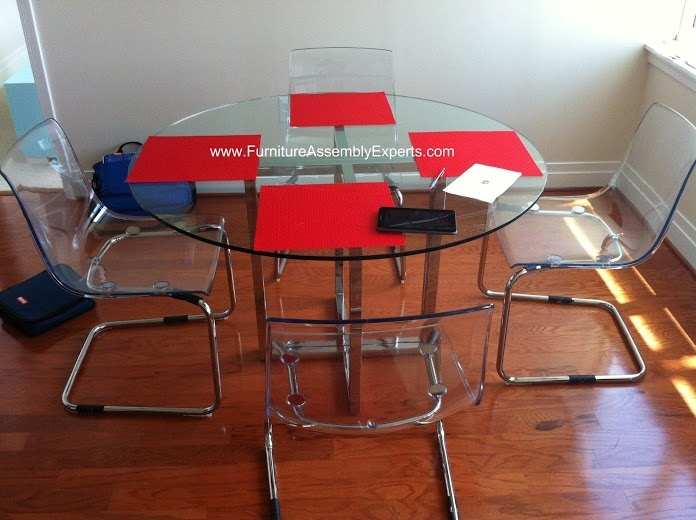 Ikea Docksta Dining Set Assembled In Annapolis Md By Furniture Assembly  Experts   Call 2407052263