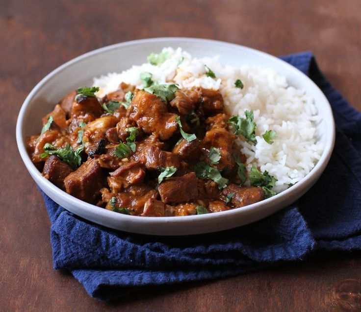 Pork Vindaloo  Pressure Cooker Perfection from @America's Test Kitchen