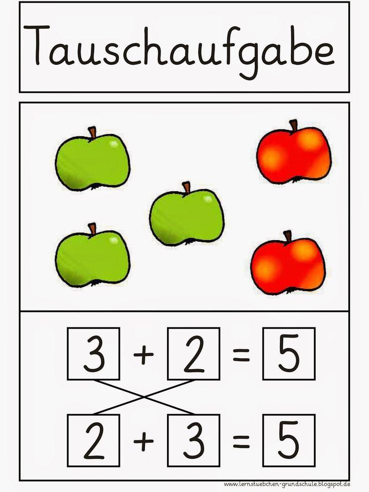 Lernstübchen: Tauschaufgaben - Merkplakat