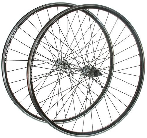 10 Speed Bike Rims : Alex rims s c wheelset etrto black