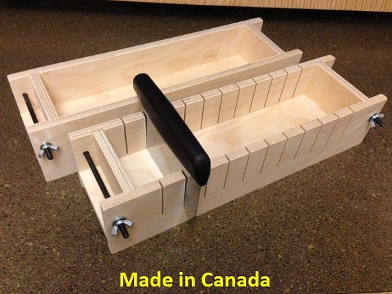Wood Soap Mold Made in Canada by WoodSoapMolds on Etsy, $45.00