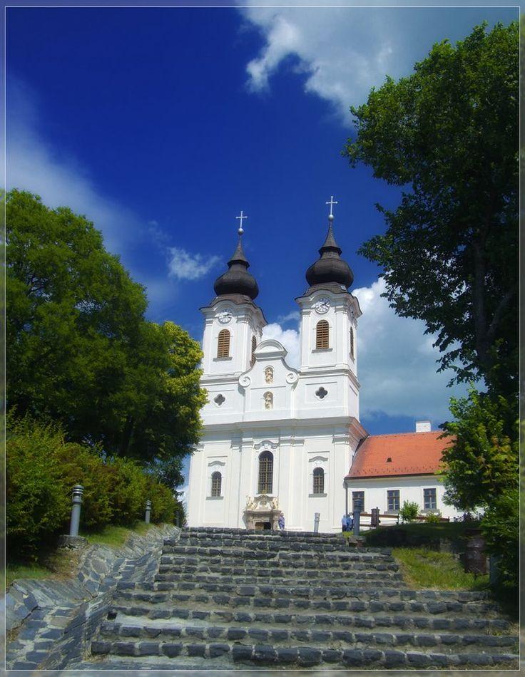 Abbey of Tihany Hungary - Abtei Tihany Ungarn
