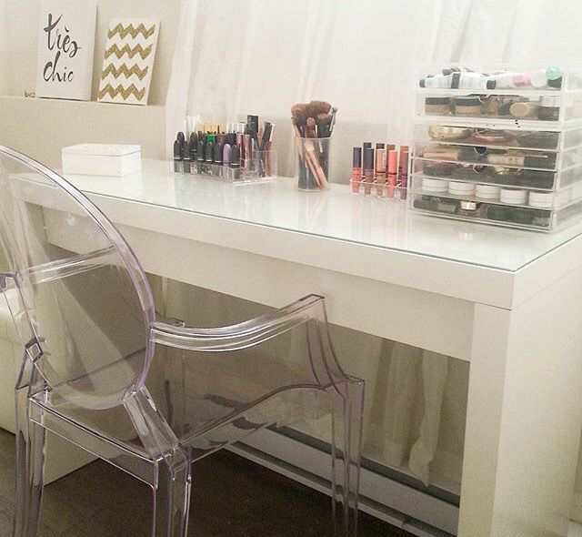 Ikea Malm Vanity Table Perfect For Doing Hair Make Up
